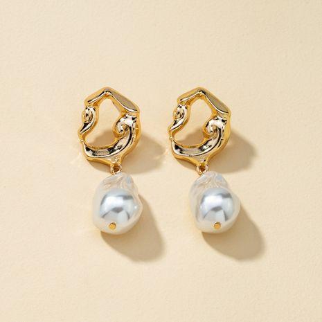 nouvelles boucles d'oreilles en alliage de perles NHQJ268359's discount tags