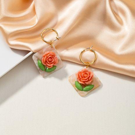 fashion new flower drop earrings NHQJ268360's discount tags