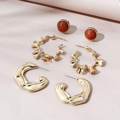 Conjunto de pendientes creativos de moda creativa coreana. NHPS268443's discount tags