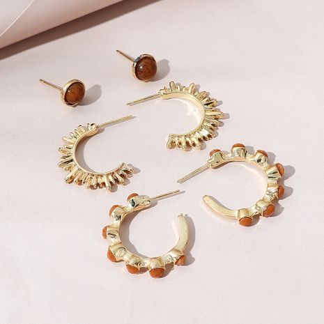 fashion simple  trendy earrings set NHPS268444's discount tags