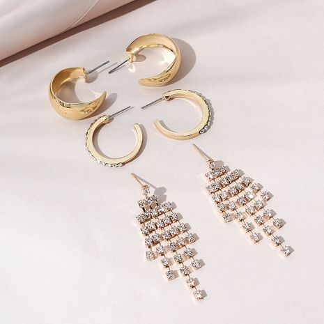 fashion  trendy earring set NHPS268445's discount tags