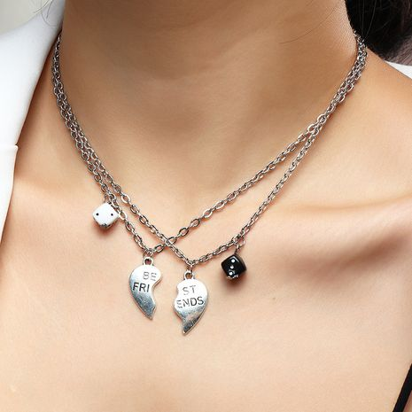 Personalized Dice Pendant Creative couple bestie Necklace NHNZ268503's discount tags