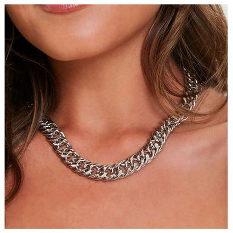 Personalized and simple choker exaggerated necklace  NHCT268588's discount tags