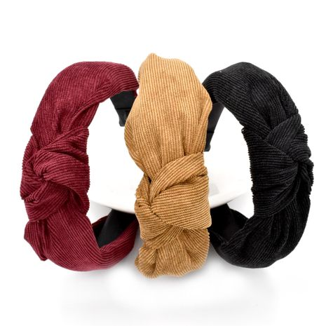 Korean fabric suede solid color hair band  NHCL268603's discount tags