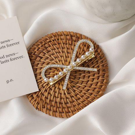 Clip en épingle à cheveux coréen perle NHMS268628's discount tags