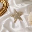 nouveau clip de ct fille toile  cinq branches en diamant couleur corenne NHMS268629