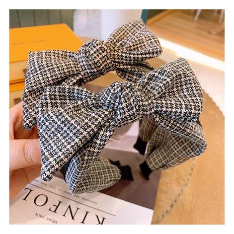 Korea fashion simple bow headband NHHD268685's discount tags