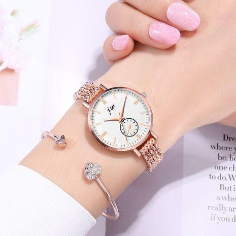 Reloj de pulsera para mujer con correa fina de aleación de moda NHSS268774's discount tags