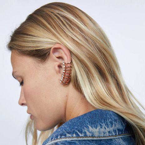 asymmetric long rhinestone creative earrings NHLA268787's discount tags