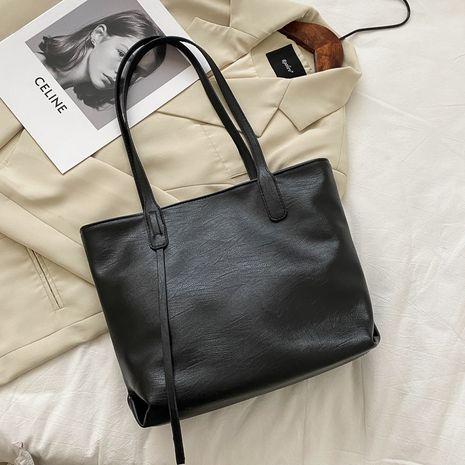 new  simple fashion  large capacity  casual handbag NHRU268837's discount tags