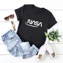 womens astronaut star printing cotton shortsleeved tshirt NHSN268959