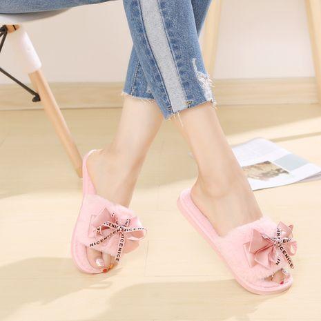 nuevas zapatillas de felpa de algodón de otoño invierno para el hogar NHPE268991's discount tags
