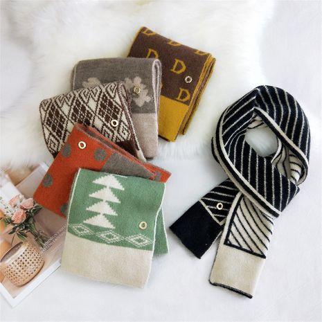 Nouvelle écharpe en laine tricotée NHMN269305's discount tags