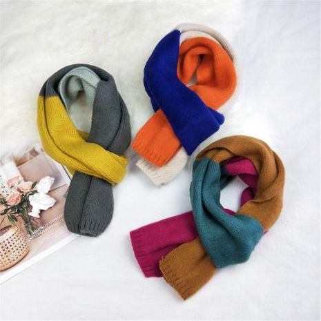neuer langer gestrickter Wollschal Frauen Herbst koreanischer kleiner warmer Schal NHMN269339's discount tags