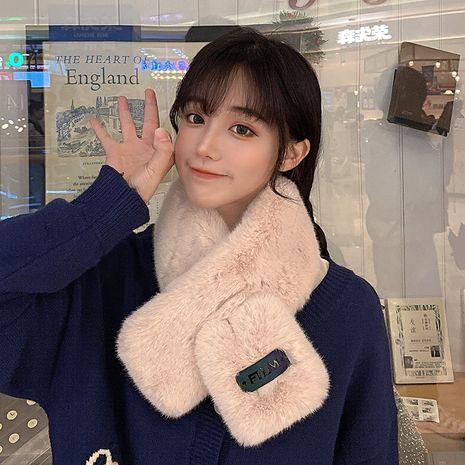 Mode coréenne jolie fille écharpe chaude épaisse NHCM269359's discount tags