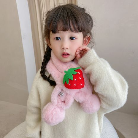 Thickened furry all-match cartoon calf  korean children's scarf NHCM269386's discount tags