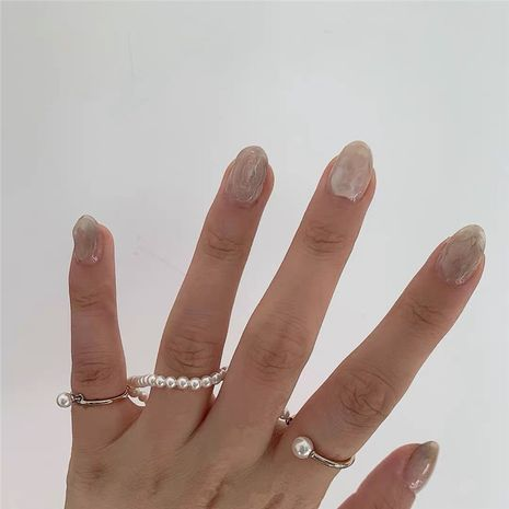 French simple fashion pearl winding ring NHYQ269410's discount tags