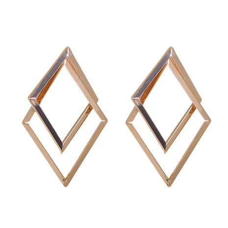 Korean alloy geometric diamond irregular simple retro earrings NHJJ269467's discount tags