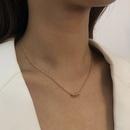simple and versatile classic bead chain necklace NHMD269514