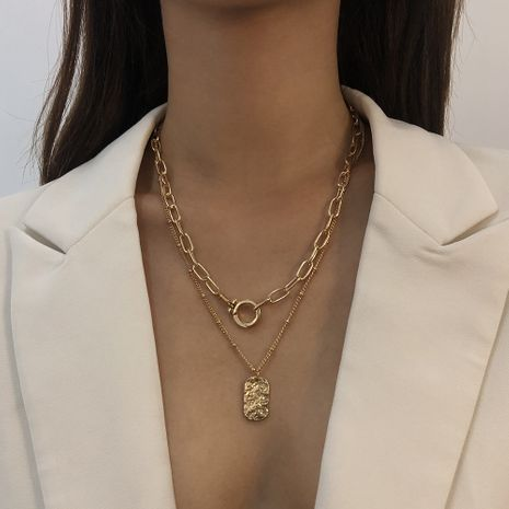 hot-selling geometric retro high-end necklace NHMD269524's discount tags