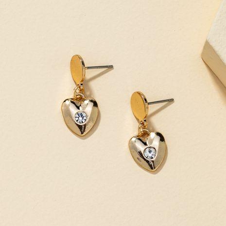 Korean heart-shaped simple fashion earrings  NHQJ269631's discount tags