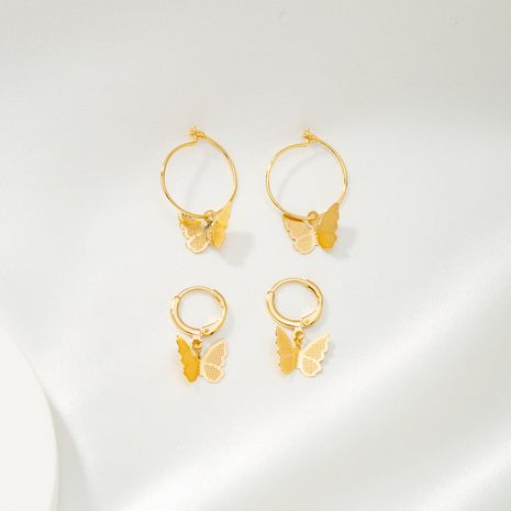 autumn new popular butterfly earrings  NHQJ269632's discount tags