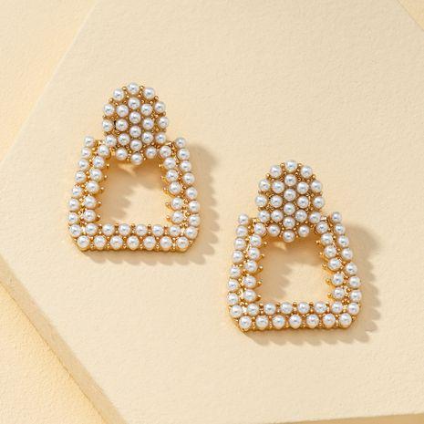 new pearl earrings  NHQJ269643's discount tags