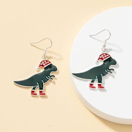 Christmas series animal earrings NHQJ269663's discount tags
