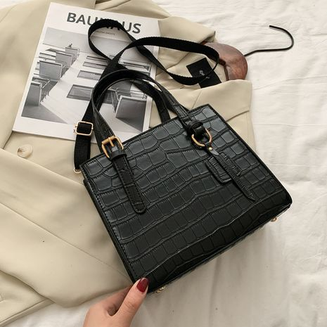 new fashion large-capacity portable crocodile print tote bag  NHRU269731's discount tags