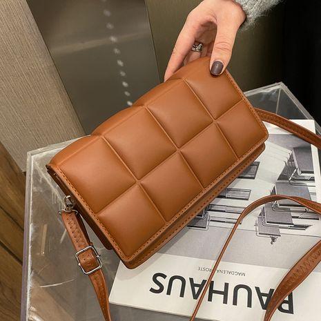 new trend Korean   wild rhombus shoulder bag  NHRU269732's discount tags