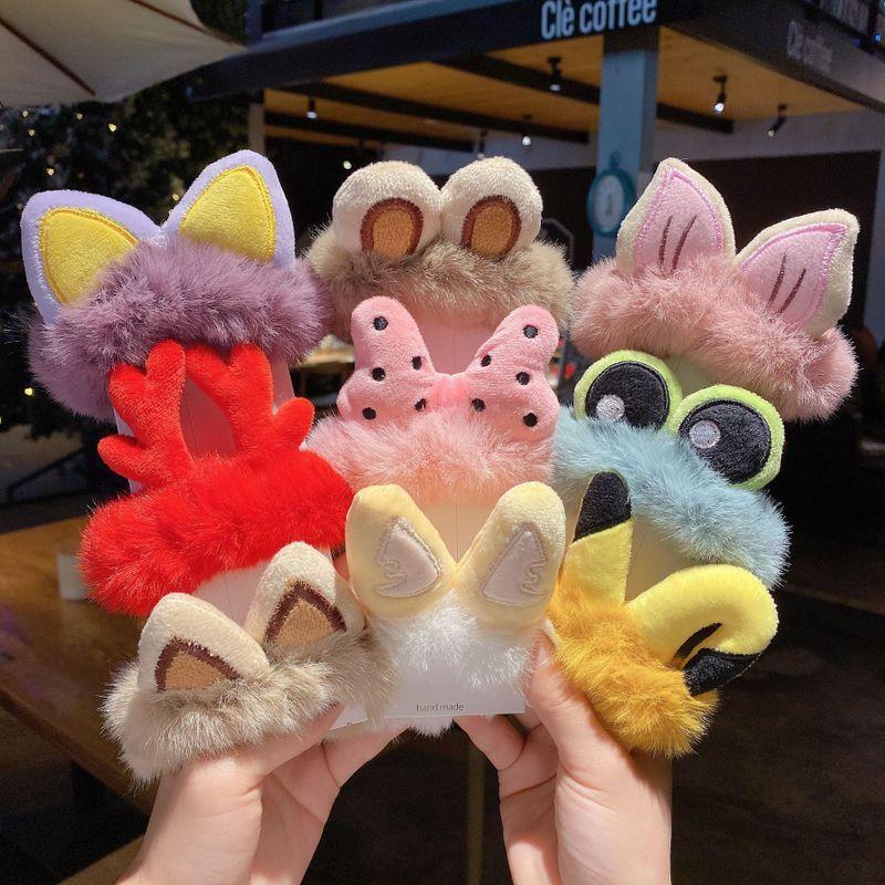 Korea   new fashion  cartoon animal ears hair rope NHCQ269781