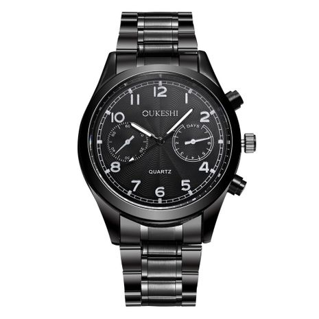 Reloj de hombre de cuarzo deportivo de superficie digital impermeable NHSS269790's discount tags