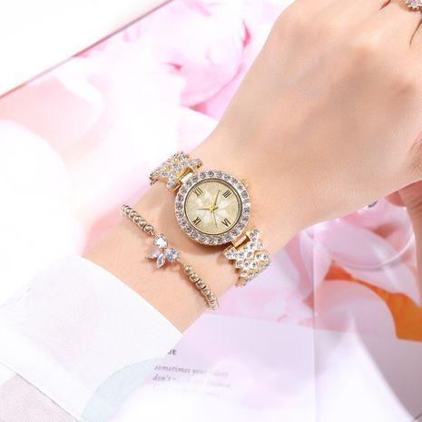 moda diamante gypsophila pétalo patrón pulsera reloj NHSY269834's discount tags