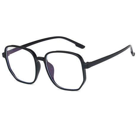 anti-blue light artifact large frame irregular polygon new flat glasses NHBA269846's discount tags