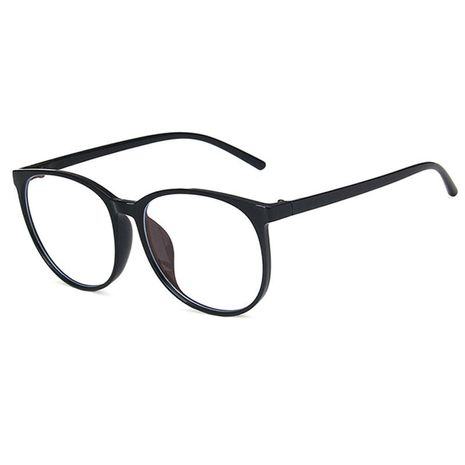 Anti-Blu-ray Large Frame Round Ultra Light Art Flat Glasses  NHBA269849's discount tags