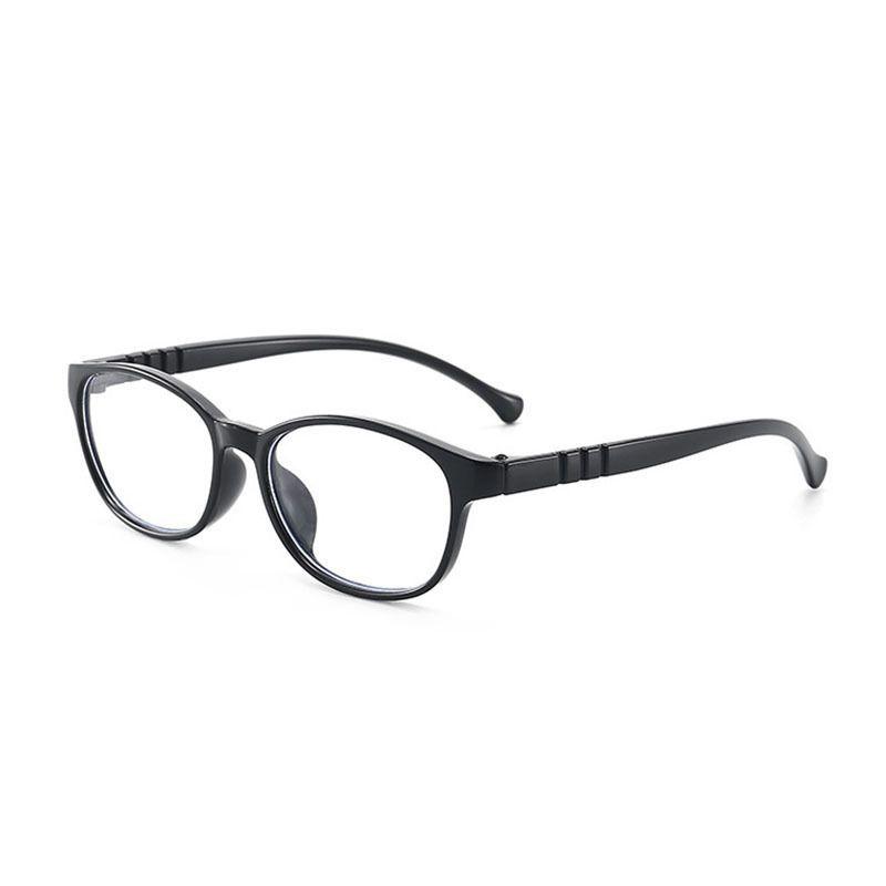 new childrens antiblue light glasses  cute oval decorative glasses  NHBA269851