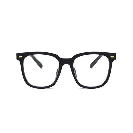 Anti-blue light frame square retro flat sunglasses NHBA269853's discount tags