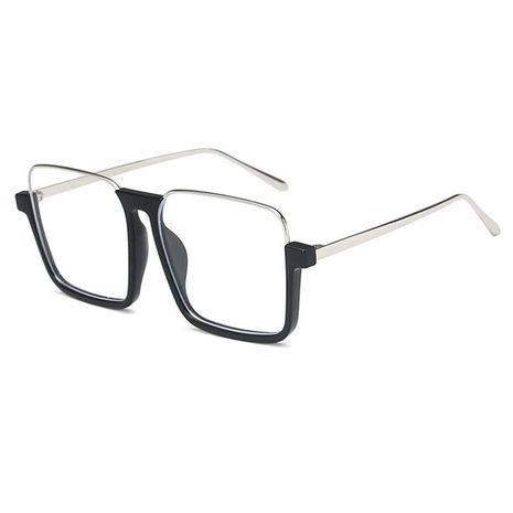New retro half-frame fashion sunglasses NHBA269854's discount tags