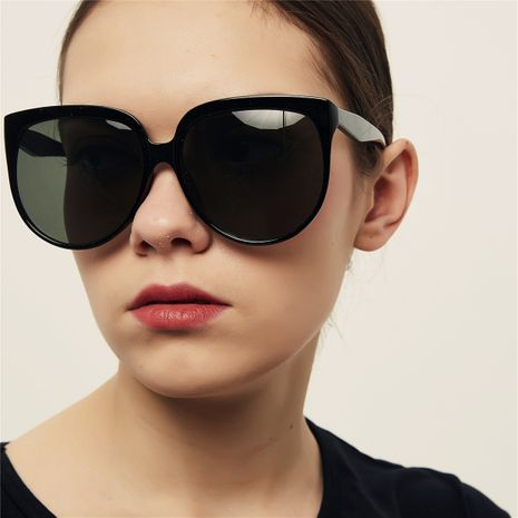 oversized frame red new retro sunglasses NHXU269871's discount tags