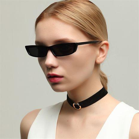concave shape retro small square sunglasses NHXU269875's discount tags