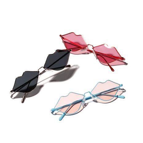 lip glasses red lip sunglasses NHXU269881's discount tags
