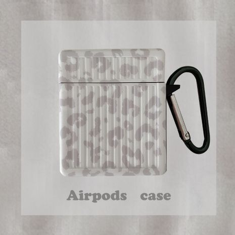 gray leopard print AirPods Pro protective cover Apple earphone box silicone shell for Airpods1/2 NHFI269910's discount tags