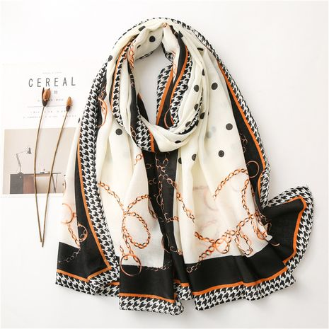 new cotton and linen printed women fashion shawl warm scarf NHGD270014's discount tags