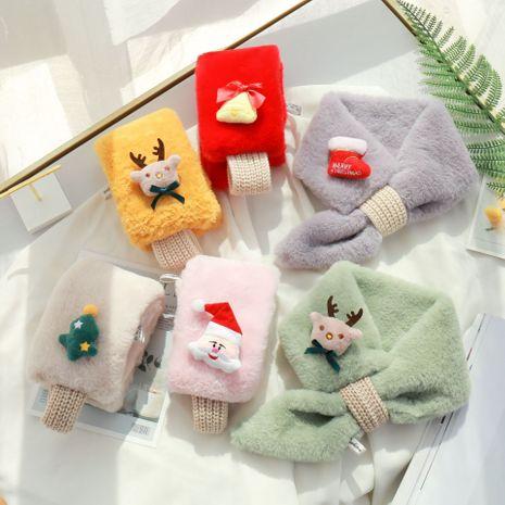 nouvelle écharpe en fourrure de lapin imitation loutre pour enfants de la mode coréenne NHCM270023's discount tags