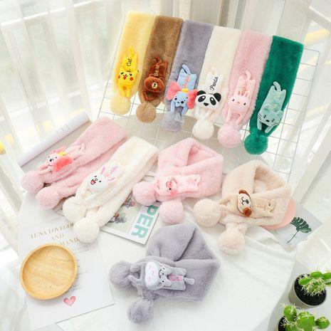 Écharpe en peluche pour enfants NHCM270084's discount tags