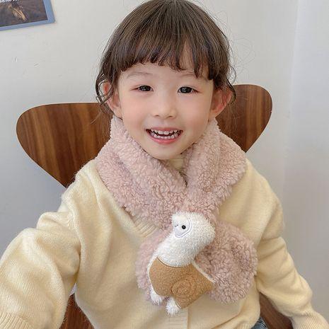 Écharpe douce en laine imitation agneau NHCM270086's discount tags
