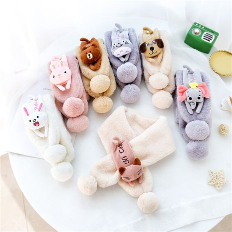 Cute Fur Ball Children Scarves  NHCM270087's discount tags