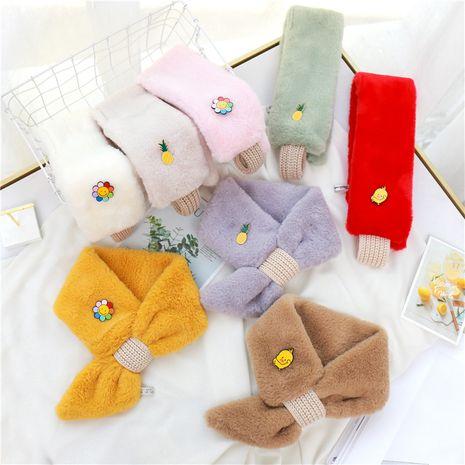 Children's imitation rabbit fur scarf  NHCM270094's discount tags