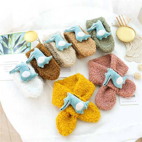 adorable écharpe en laine triangle animal NHCM270102's discount tags