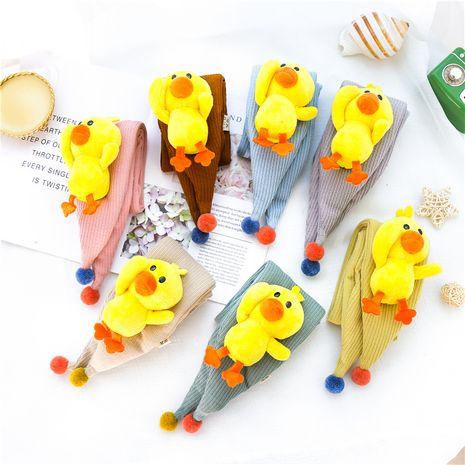 mignon écharpe triangle de canard enfants garçons filles bavoir tricoté NHCM270113's discount tags